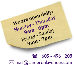 Operation Hours - Mon to Thurs 9am - 6pm, Fri to Sun 9am - 7pm